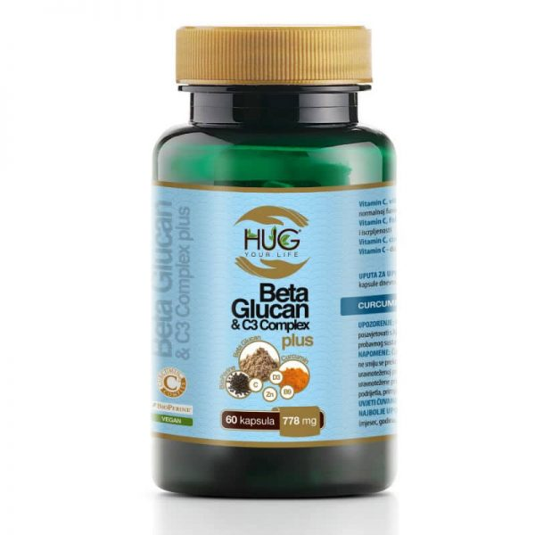 Beta Glucan & C3 Complex PLUS (60 kapsula) - Hug Your Life
