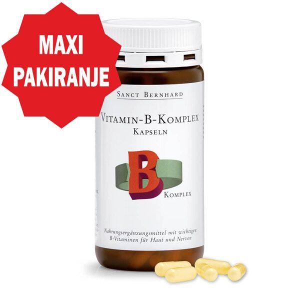Vitamin B Kompleks Kapsule (150 kapsula) - Kräuterhaus Sanct Bernhard