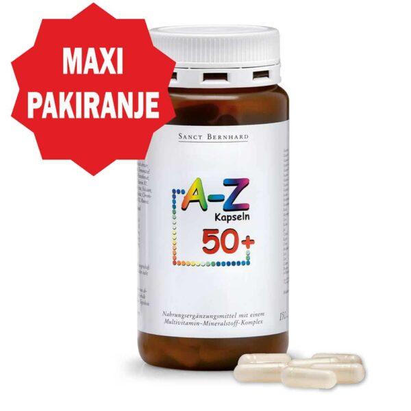 Vitamini A-Z 50 + kapsule (150 kapsula) - Kräuterhaus Sanct Bernhard