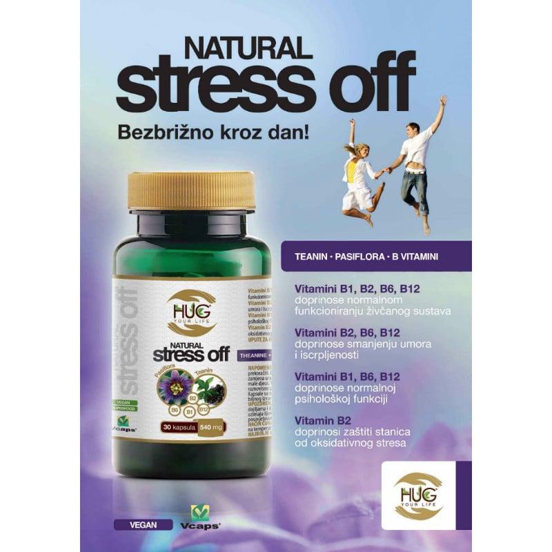Natural Stress Off - Hug Your Life