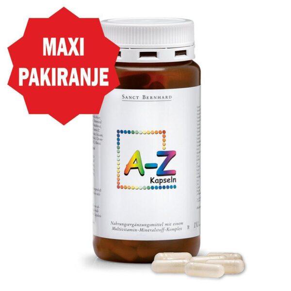 Vitamini A-Z (150 kapsula) - Kräuterhaus Sanct Bernhard