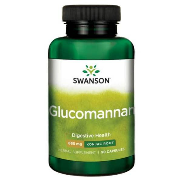 Glukomanan Swanson (90 kapsula) - 100% prirodan