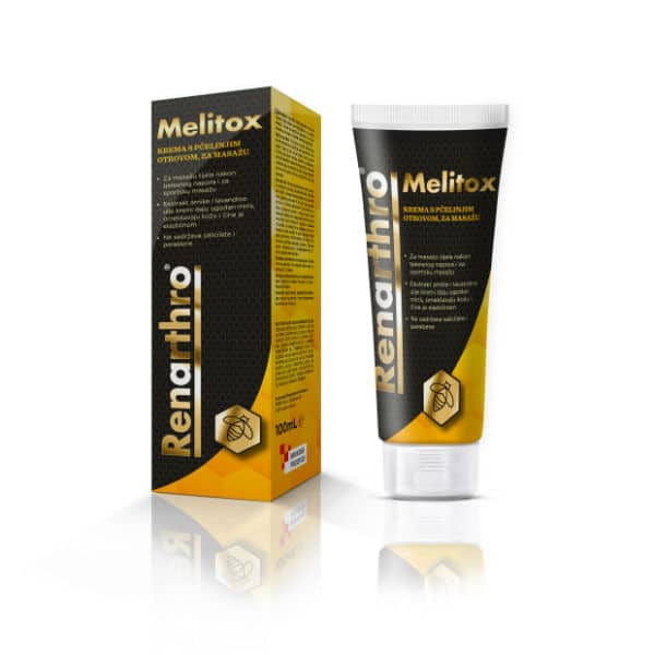 Renarthro Melitox krema s pčelinjim otrovom (100 ml) - Farmavita