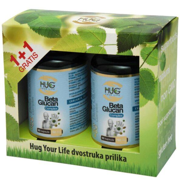 AKCIJA 1+1 GRATIS: Beta Glucan & C3 Complex PLUS (60 kapsula) – Hug Your Life