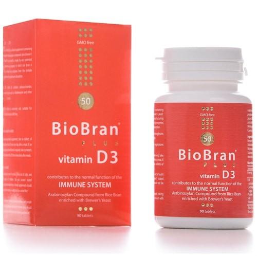ImunoBran u Prahu – BioBran s vitaminom D3 (90 kapsula)
