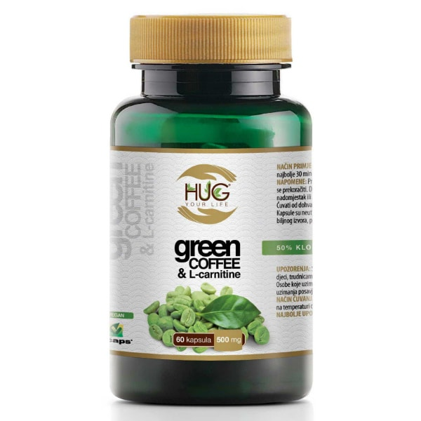 Green Coffee & L-Carnitine - Zelena Kava - Hug Your Life