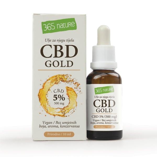 CBD gold ulje 5%