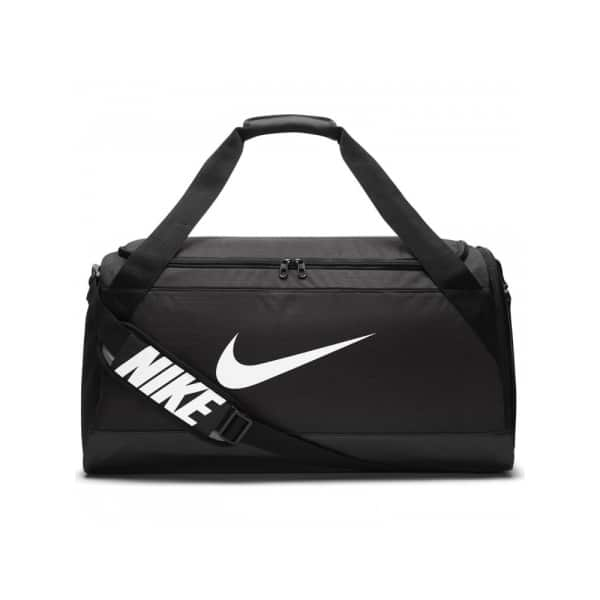 Nike Brasilia (Medium) Training Duffel Bag, Black/White