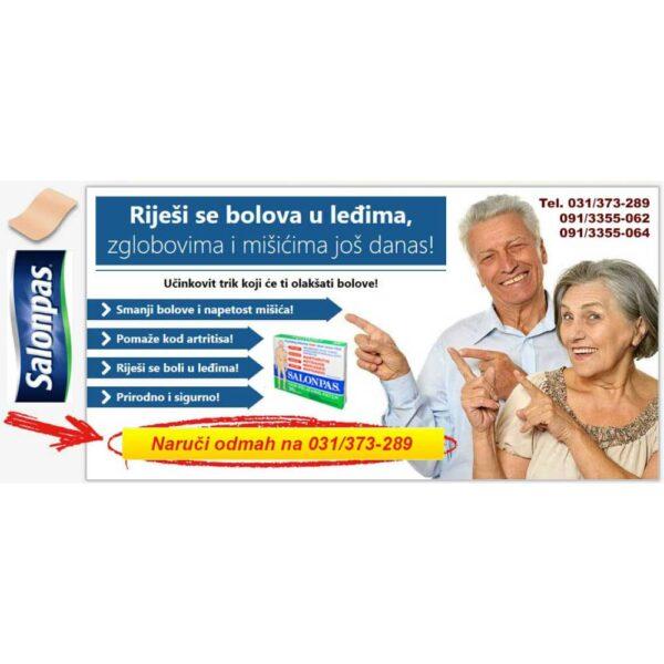 Salonpas flasteri protiv bolova