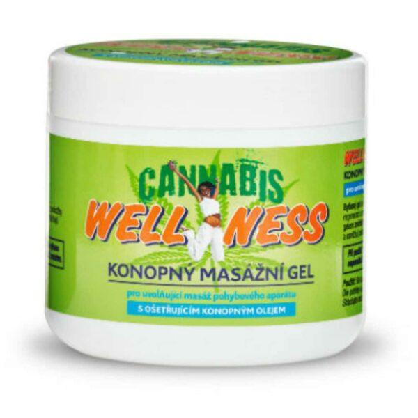 Wellness masažni gel od konoplje