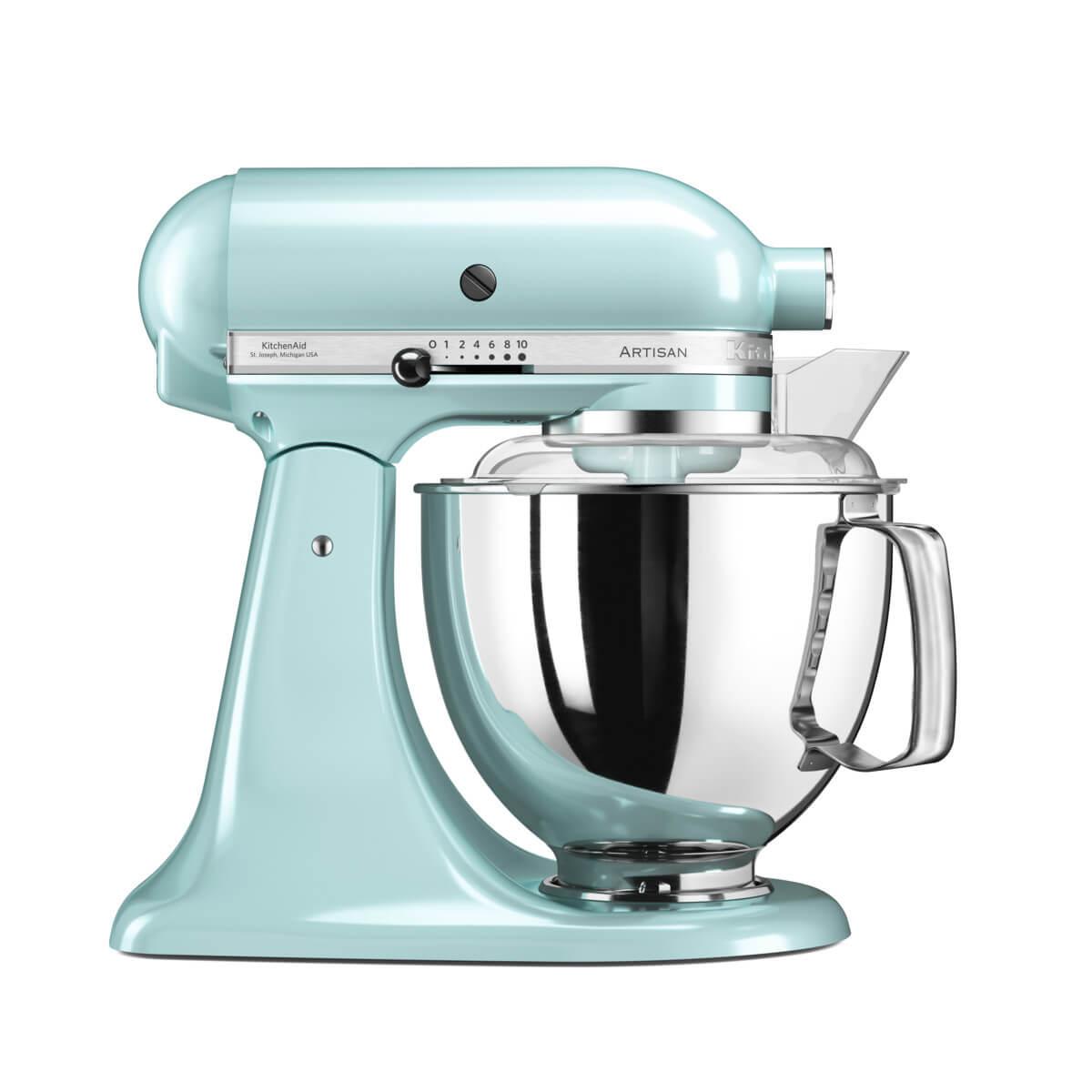 KitchenAid samostojeći mikser Artisan (4,8 l) – 5KSM175PS - BoysenberryKitchenAid samostojeći mikser Artisan (4,8 l) – 5KSM175PS - Ice Blue