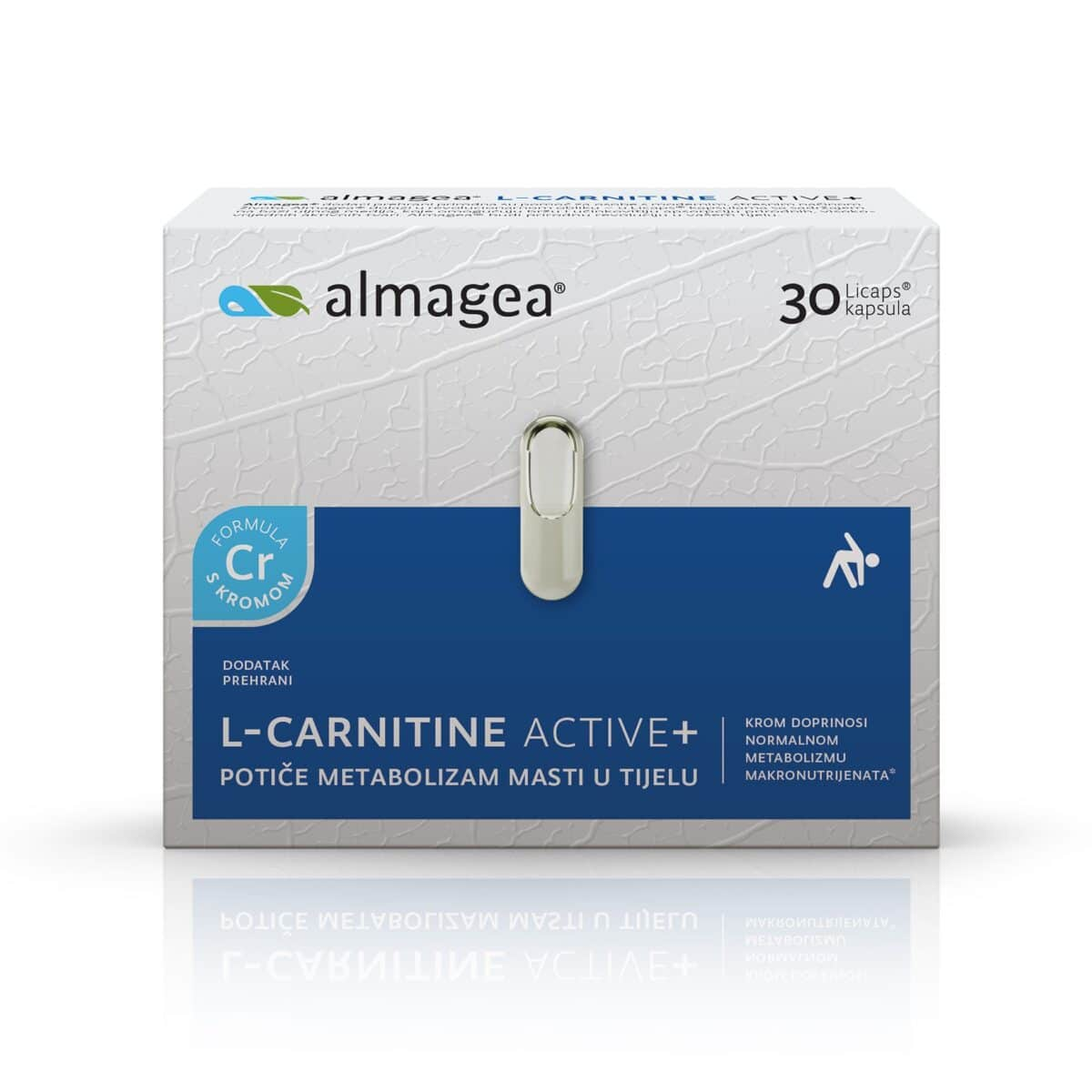 AlmageaL-CARNITINEACTIVE+ (30 kapsula)AlmageaL-CARNITINEACTIVE+ (30 kapsula)