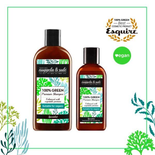 Nuggela & Sulé 100% Green šampon za volumen - Nuggela & Sulé