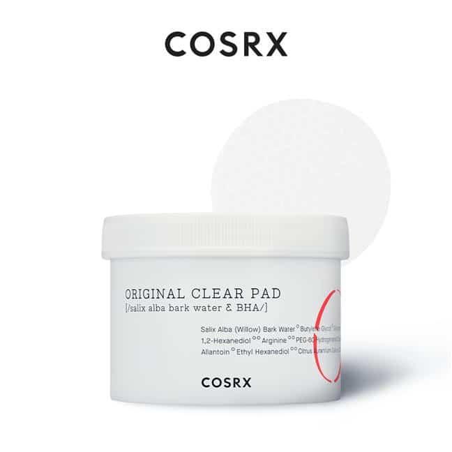 COSRX One Step Original Clear Pad - blazinice za čišćenje kože s BHA
